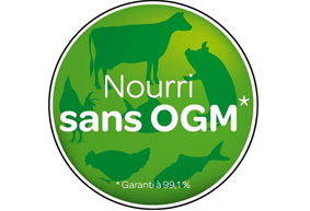 Nourri sans OGM